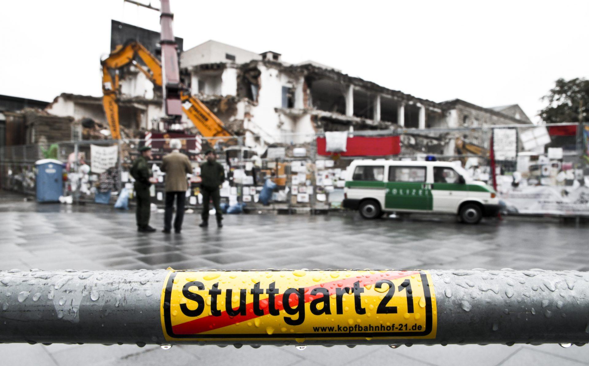 Stuttgart 21, Bild: Jens Z. pixelio.de